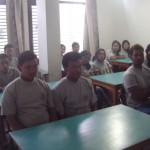 Students in an awareness class